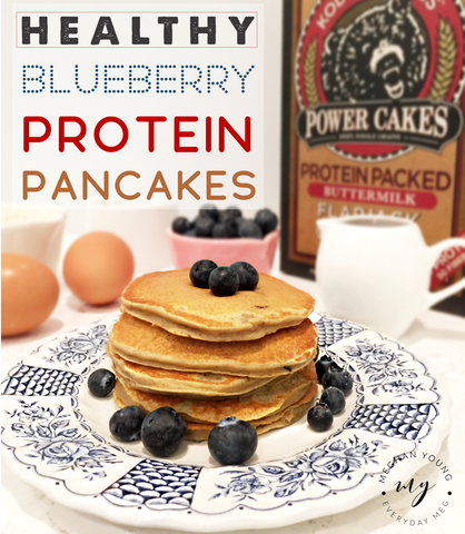 healthy living, protein pancakes, healthy breakfast
