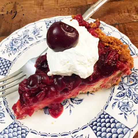 Cherry Pie, Homemade Cream Cheese Cherry Pie