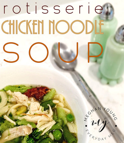 chicken noodle soup, homemade, soup