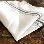 Farmhouse Bistro Napkin - Blue Stripe - Set of 4