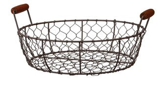 Chicken Wire Basket - Large