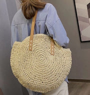 Woven Tote - Light and Dark Shades