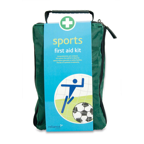 Sports First Aid Kit in Green Copenhagen Bag
