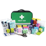 Relisport Stadium First Aid Kit in Green Paris Bag