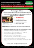 PE Technology Day 10th Jan 2018