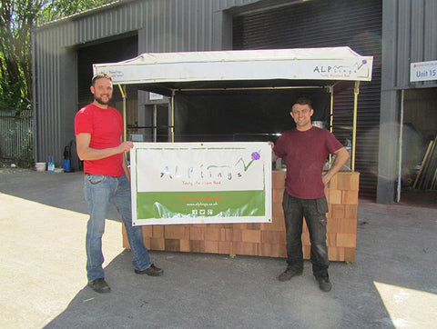 Alplings Food Hut Presentation
