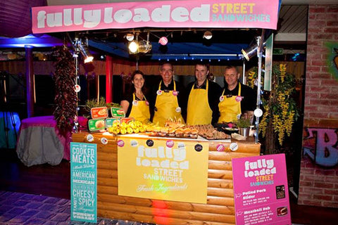 Thames Boat Street Hut Hire - Carnival style