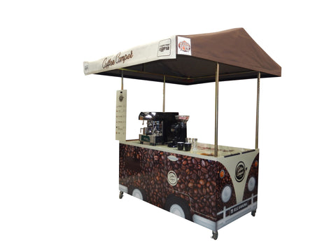 Coffee Camper Cart