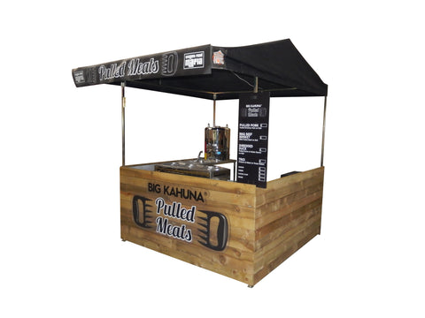Pulled Meat Stall Hire