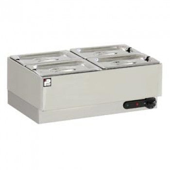 Parry GBM4W Electric Wet Well Bain Marie 4 Pot