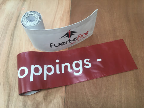 PVC Top Banner - 8ft