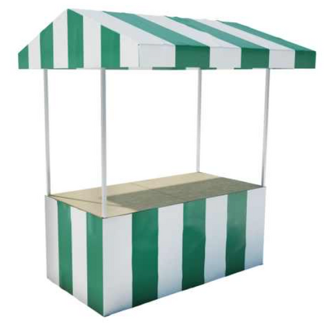 The Mia - 6' x 3' Market Stall