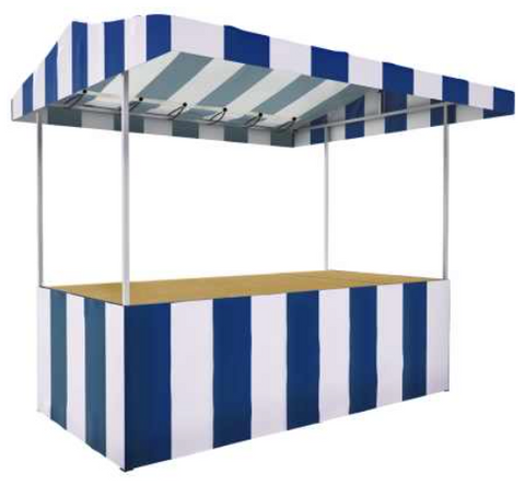 The Jules - 8' x 4' Market Stall