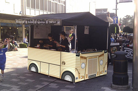 Medium Street Food Van - Citroen H