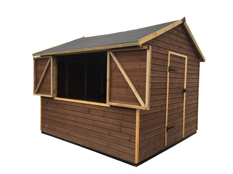 3m x 3m Lockable Kahuna Hut