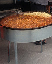 Paella Pan and Stand