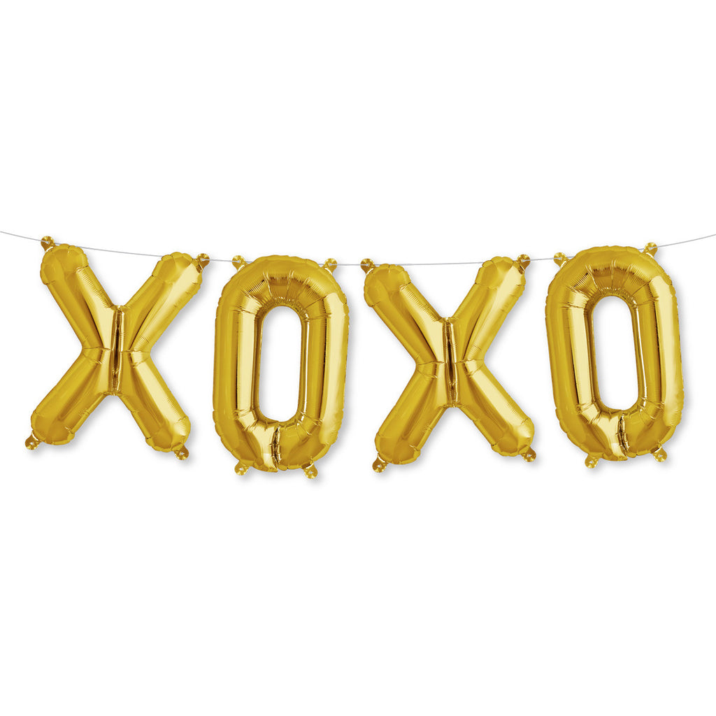 XOXO Girlande Gold