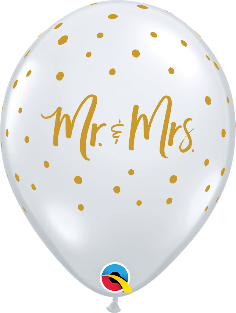 Mr & Mrs Latexballon Set, 28cm