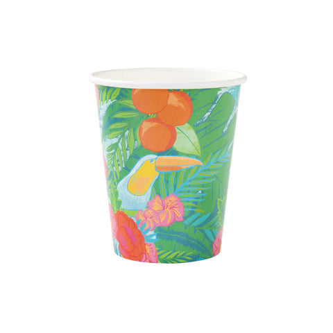 Tropical Garden Becher