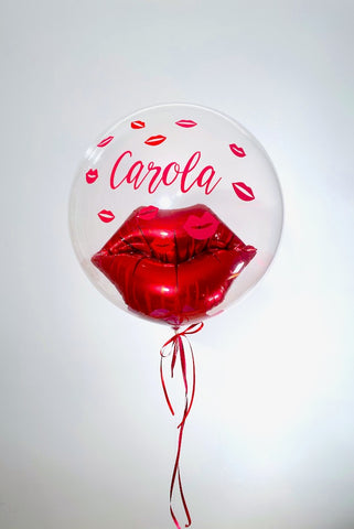 Kiss Bubble Balloon