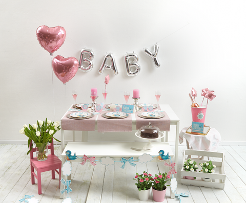 Girl Baby Shower Party Pack