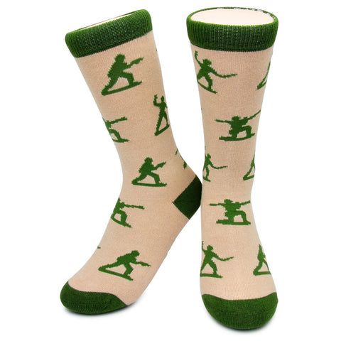 Crew Socks - Army Men