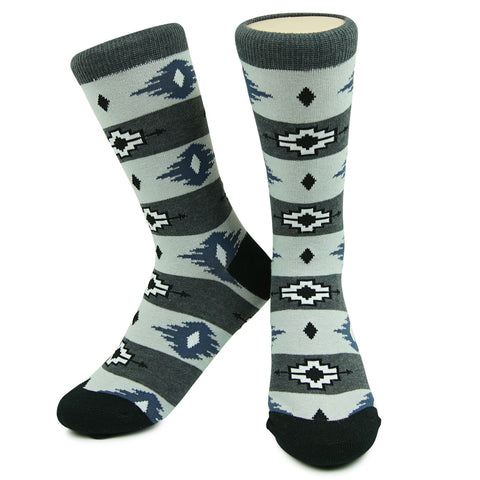 Crew Socks - El Paso Gray/Black