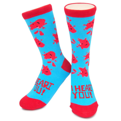 Crew Socks - I Heart You