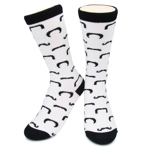 Crew Socks - Mustaches