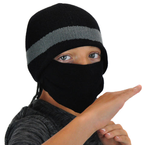 Ninja Beanie with Mask