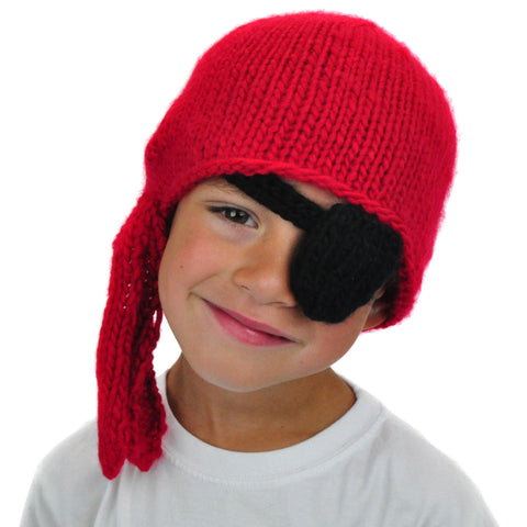 Pirate Beanie with Patch