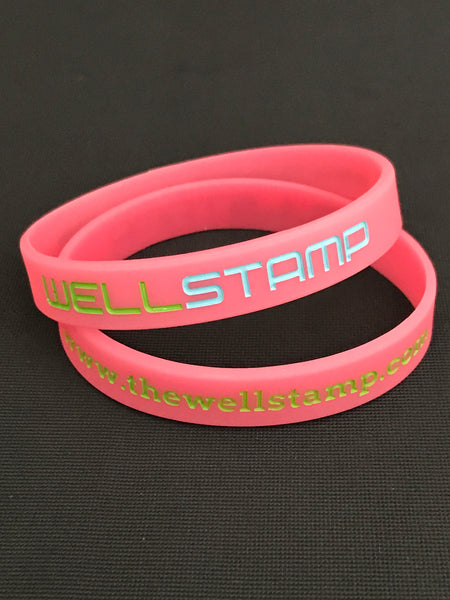 SPECIAL EDITION PINK WELLSTAMP Wristband