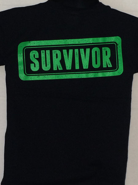 """SURVIVOR"" Tee: Show that you have made it through tough times. (Click on image for options)"