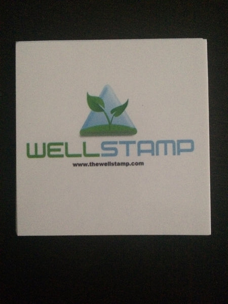 WELLSTAMP Sticker: FREE WITH ALL PURCHASES
