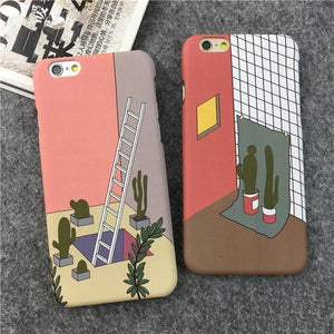 Ladders and Rooms Phone Case