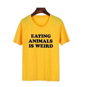 Eating Animals is Weird Tee