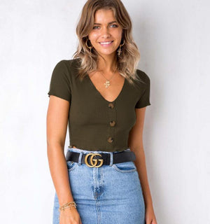 Piquila Crop Top