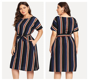 Tevra Plus Size Dress