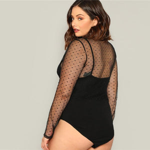 Cequi Plus Size Bodysuit