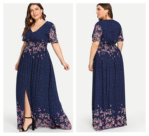 Xocia Plus Size Maxi Dress