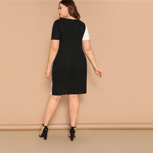 Topey Plus Size Dress