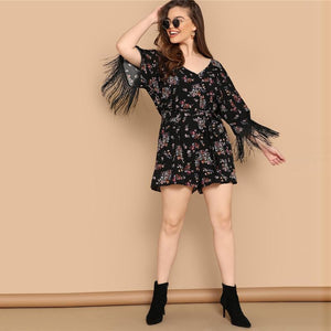 Yeeja Plus Size Playsuit