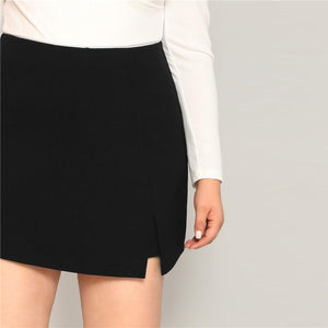 Zari Plus Size Skirt