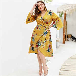 Uvera Plus Size Dress