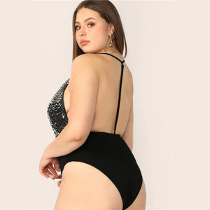 Akecia Plus Size Bodysuit