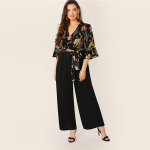 Dhelian Plus Size Jumpsuit