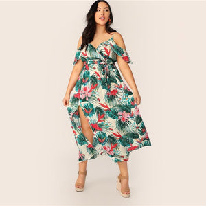 Dholli Plus Size Maxi dress
