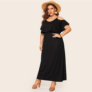 Ermia Plus Size Maxi Dress