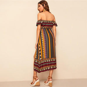 Monida Midi Dress