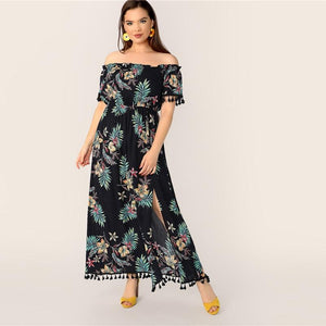 Fhina Plus Size Maxi dress